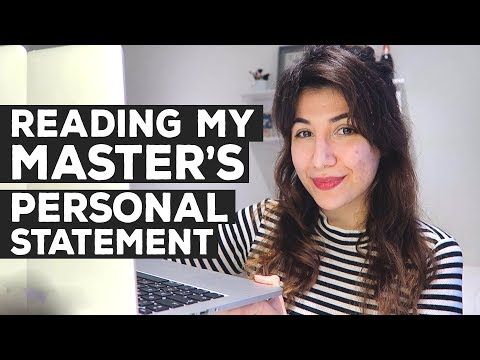 PERSONAL STATEMENT FOR MASTERS (Postgraduate) | King's College London | Atousa