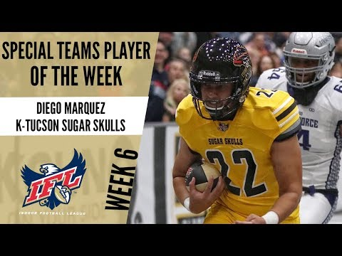 Week 6 Special Teams Player of the Week : Diego Marquez