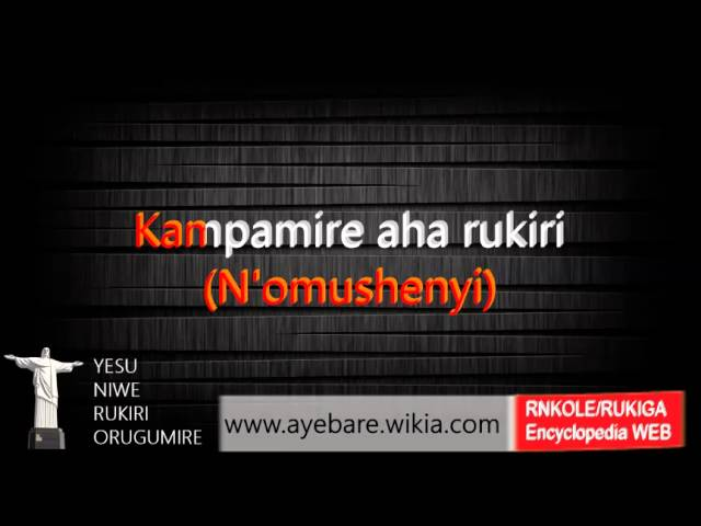 eshagama-yomujuni-tune-1-of-2-runyankole-rukiga-hymn-church-of-uganda-yesu-asiimwe