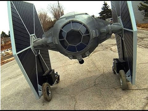 Star Wars Tie Fighter - Homemade, Electric, & Driveable