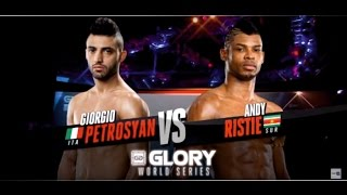 Giorgio Petrosyan vs  Andy Ristie - Glory 12 New York