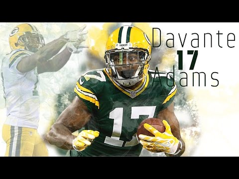 Davante Adams   Rising Star   (2016-2017 Packers Highlights)