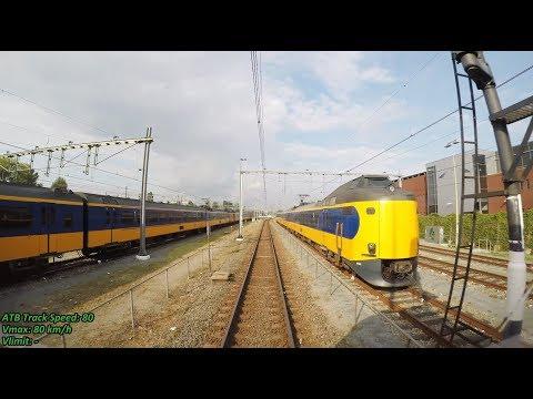 4K Cab Ride NL Rotterdam CS – Gouda – Utrecht CS / IC 2835 / 01-09-2017