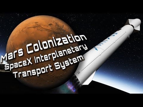 Mars Colonization - SpaceX Interplanetary Transport System -