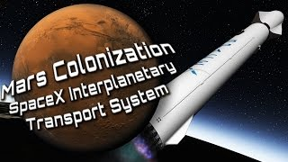Mars Colonization - SpaceX Interplanetary Transport System - Full movie