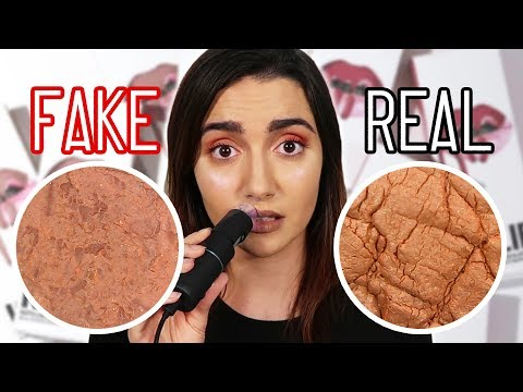 Real Vs Fake Makeup Under A Microscope