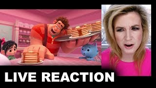Ralph Breaks the Internet Wreck It Ralph 2 Trailer REACTION
