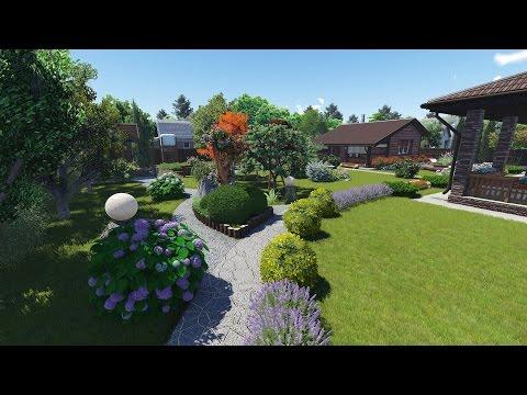 видео: Ландшафт Дизайн Проект  12 2015 г