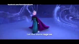 Let It Go - Frozen - Idina Mendez (Karaoke Original Clip)