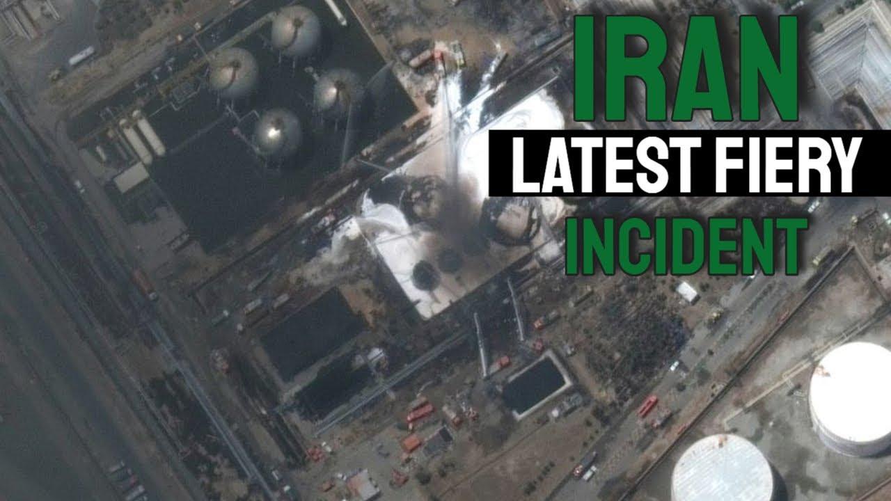 Iran Latest FIERY Incident