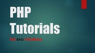 PHP & MySQL Tutorial - 42: HTML Special Characters