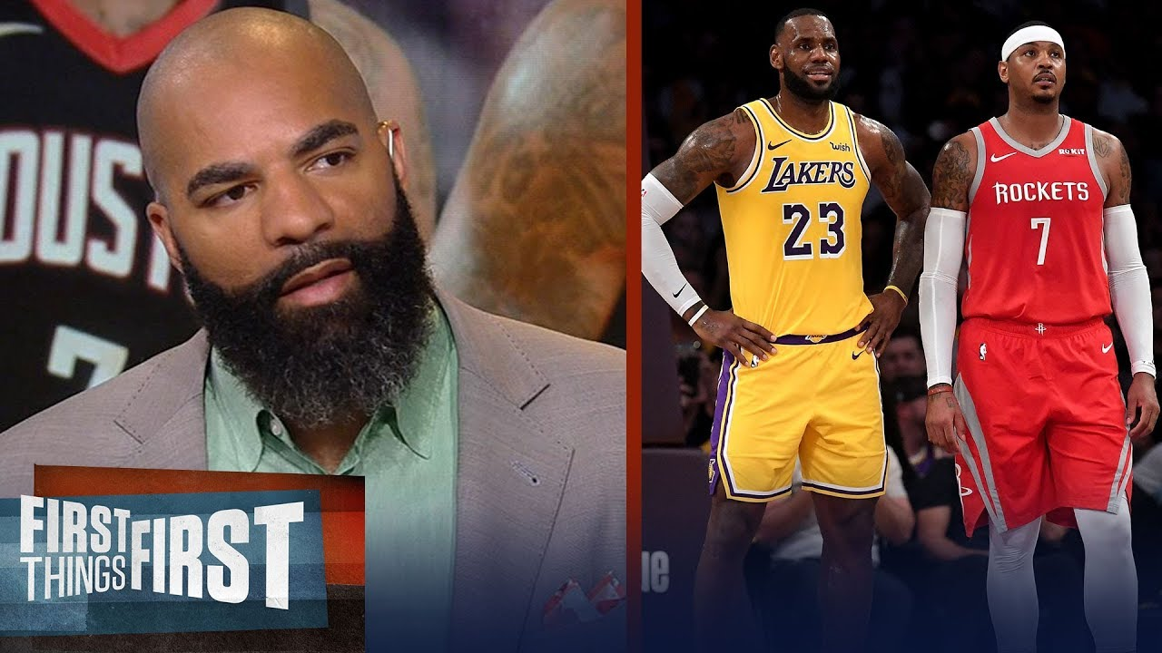 carlos-boozer-reacts-to-reports-lebron-wants-carmelo-to-join-the-lakers-nba-first-things-first