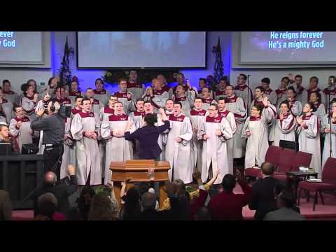 """He's A Mighty God"" – Shara McKee & FAC Sanctuary Choir"
