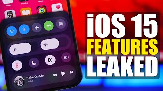 iOS 15 Features LEAKED - New Lock Screen, Control Center & More !