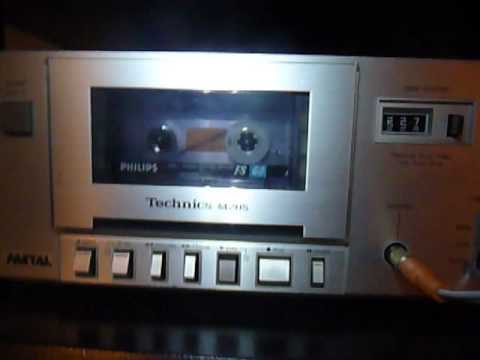 Sample compact cassette tape