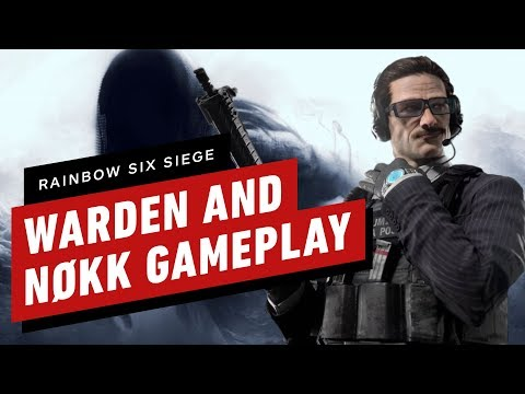 Rainbow Six Siege: Nøkk and Warden Gameplay
