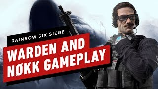 Rainbow Six Siege: Nøkk and Warden Gameplay