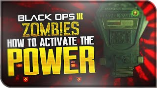 "HOW TO TURN THE POWER ON! ""Shadows of Evil"" FUSE LOCATIONS! (Black Ops 3: Zombies)"