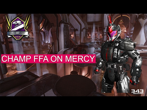 Halo 5 Champ 87 FFA on Mercy