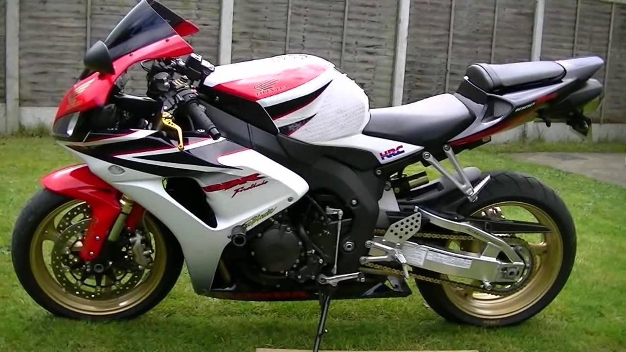 Honda Cbr 1000rr Fireblade 07 Hrc Youtube