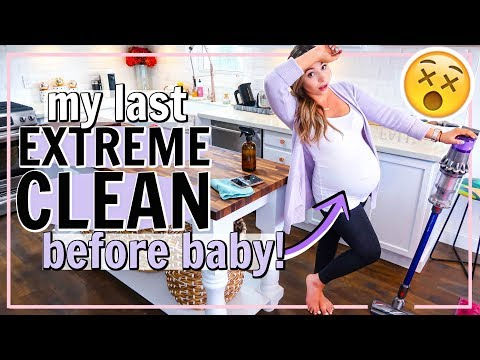 MY LAST EXTREME CLEANING VIDEO! ALL DAY CLEAN WITH ME! FALL 2019 SPEED CLEANING | Alexandra Beuter