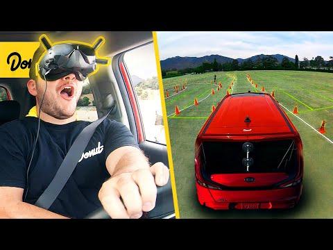 vr-driving-in-a-real-car---matpat-vs-donut