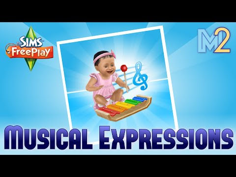 Sims FreePlay - Musical Expressions Hobby (Tutorial & Walkthrough)