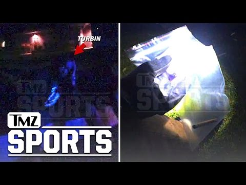 NFL's Robert Turbin- Marijuana Bust Video...Cop Finds 'Rolled Joint Type Thing' | TMZ Sports