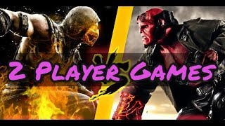 10 Best Games 2 Players ( Coop Games PC PS3 PS4 xbox one ) 🔥🎮