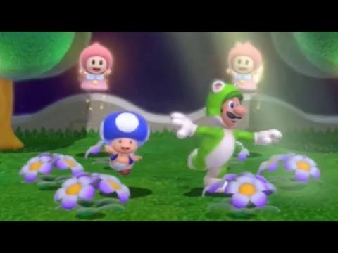 Super Mario 3D World - 100% Walkthrough: World Crown (2 Player)