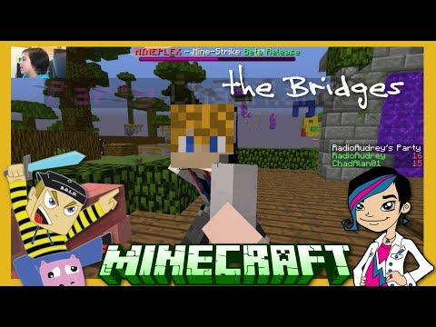 Minecraft - Bridges Hacker and Epic Win with Gamer Chad Alan on the Mineplex