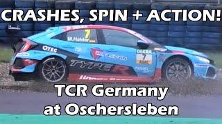 CRASHES + ACTION! TCR Germany at Oschersleben 2018