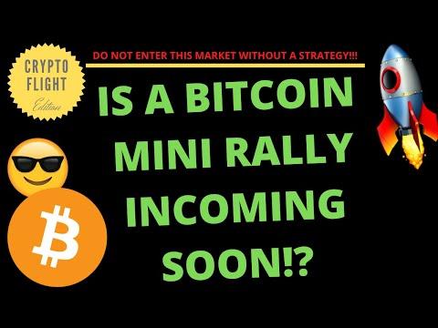 IS A BITCOIN MINI RALLY INCOMING SOON!? | PRICE PREDICTION | TECHNICAL ANALYSIS$ BTCUSD
