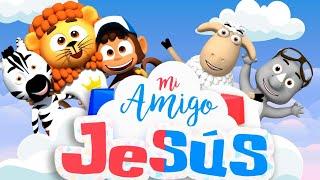 Mi Amigo Jesús - La Patrulla del Rey | Canciones Infantiles (Vídeo de Letras)