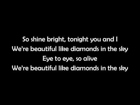Rihanna - Diamonds LYRICS con la letra