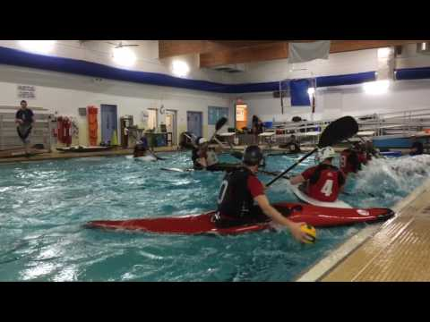 Canoe Polo in Watertown, Mass.