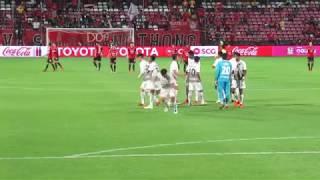 SCGスタジアム試合前セレモニー・選手入場・国歌斉唱・キックオフまで(タイサッカーリーグ)