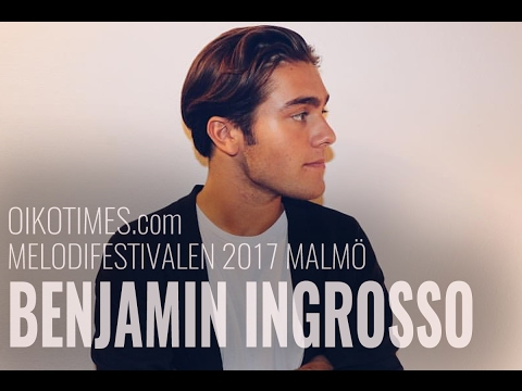 oikotimes.com: interview with Benjamin Ingress in Malmö (Melodifestivalen 2017)