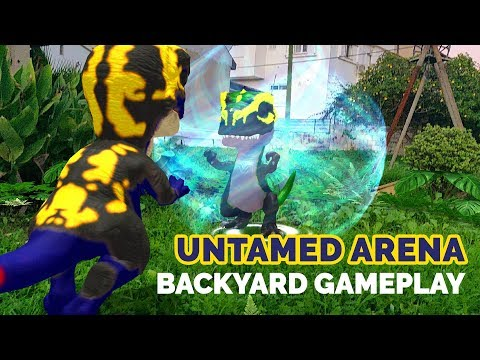 Untamed Arena Backyard Gameplay - Slashes & Farts