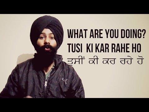 Learn Punjabi in 3 minutes | Learn Punjabi