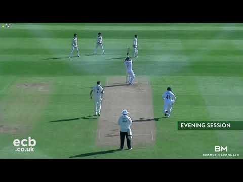 DERBYSHIRE V MIDDLESEX - DAY ONE ACTION (20APR2018)