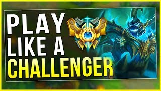 HOW TO PLAY HECARIM LIKE A CHALLENGER PLAYER! SEASON 8 HECARIM GUIDE - League of Legends