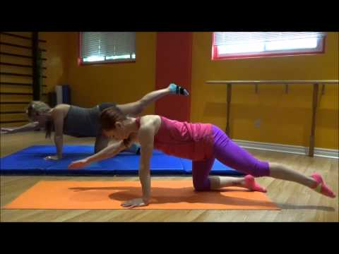 Back pain relief yoga exercises  during pregnancy. Stretching and strength.