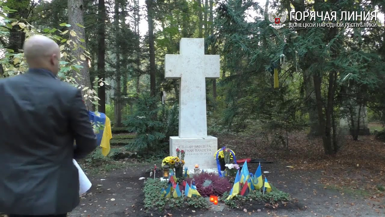 Националист Мосийчук пригрозил расправой Грэму Филлипсу за «осквернение» могилы Бандеры