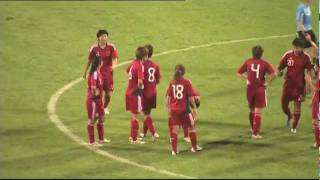Women: Thailand vs China PR, 2012 London Olympics - Asian Qualifiers