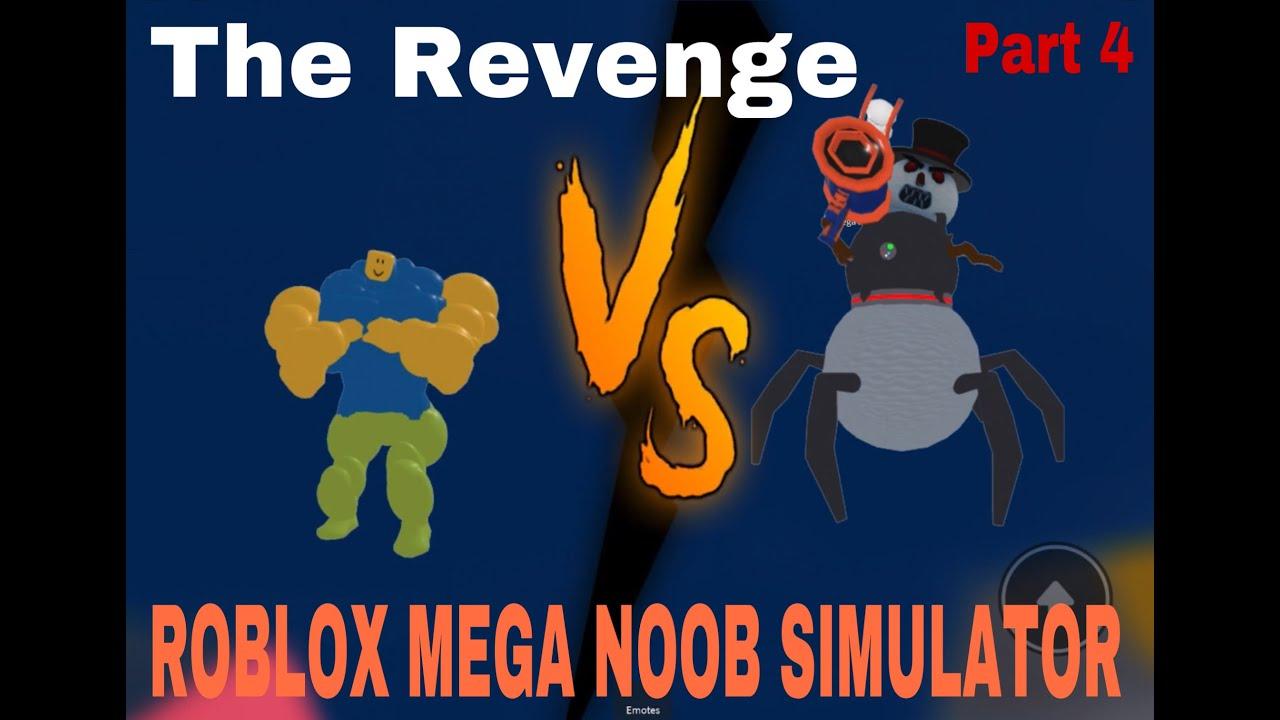 Download ROBLOX MEGA NOOB SIMULATOR WEEK - PART 4, GREENBOY X MEGA SANTA + ROBO-SNOWMAN, THE REVENGE!!!