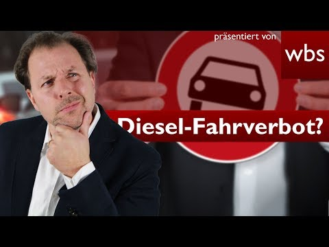 Muss Frankfurt Diesel-Fahrverbot einführen? | Rechtsanwalt Christian Solmecke