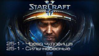 StarCraft II: Wings of Liberty - Чрево чудовища / Шторм в гавани [все достижения]