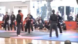 Chris Mendonez Zen Do Kai Grading 3rd degree part 2