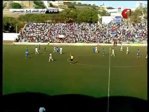 Cape Verde 1-2 Tunisia 1er Mi-T